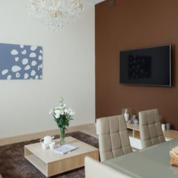 Гостиная комната Arcadia Villa Apartments