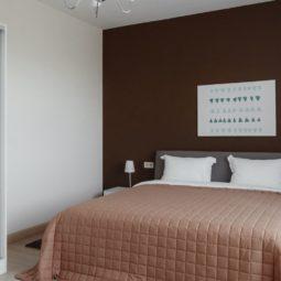 двухспальная кровать Arcadia Villa Apartments